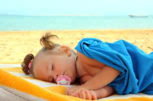 beach girls sleeping picture 1