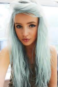 blue dye for gray hair picture 13