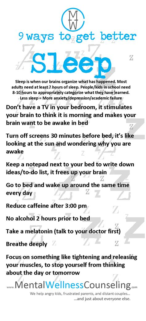 ways to get to sleep picture 3