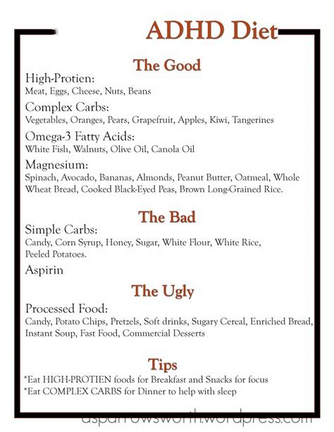 adhd diet picture 2