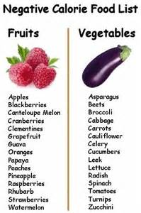 complete list recipes negative calorie foods diet picture 5