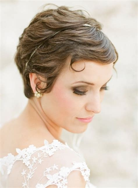 shor hair styles for weddings picture 9