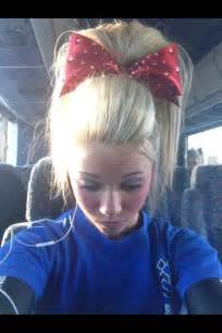 cheer hair picture 10