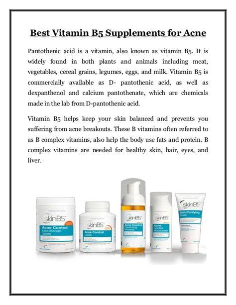 vitamin b5, acne, diarrhea picture 6