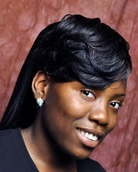 black hair ponytails picture 15