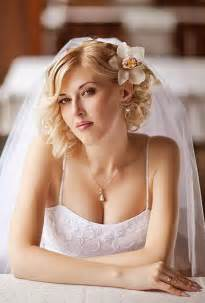 bridal hair styles for short picture 7