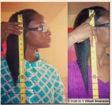 inversion method natural hair picture 3