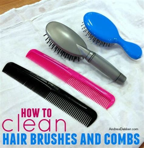 cleaning of hair brushes picture 5
