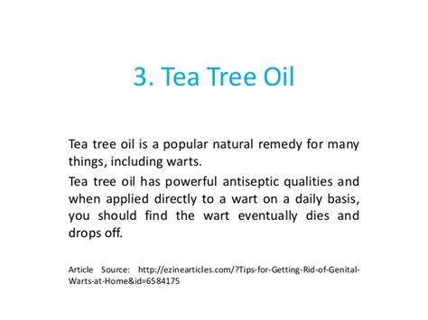tea tree oil genital warts burning smell picture 8