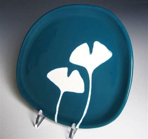 ginkgo ceramic plate picture 5