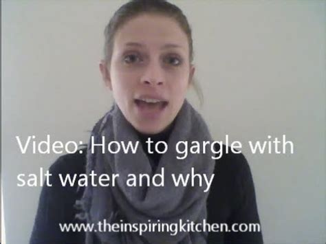 recipe for salt water gargle sore tooth picture 14