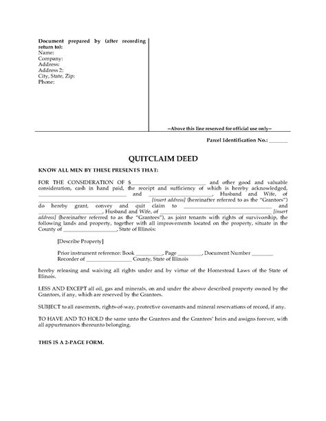quit deed with joint tenancy georgia picture 22