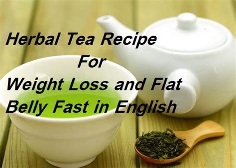 herbs tea for weight loss flat stomach picture 1