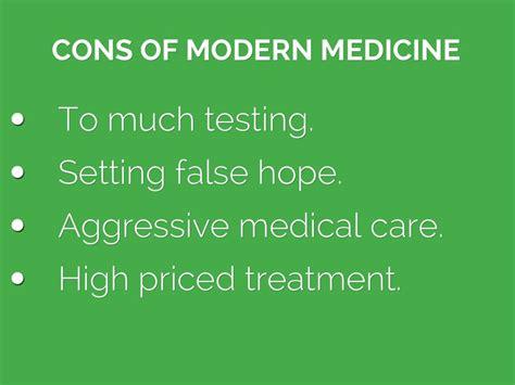 advantage of modern medicine picture 1