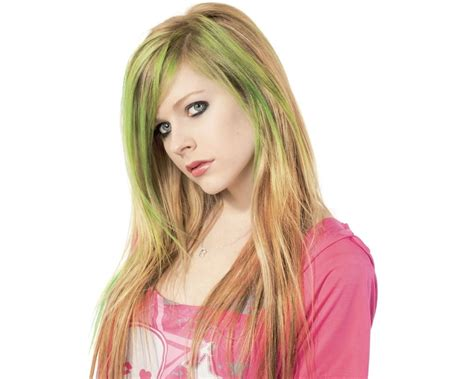 avril lavinge hair styles picture 2