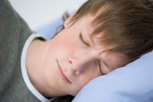 sleeping young boys picture 2