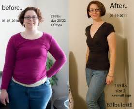before and after diet picture 1