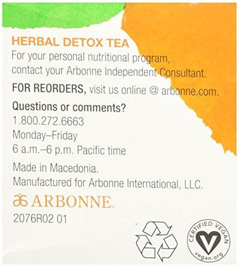 arbonne detox tea picture 10