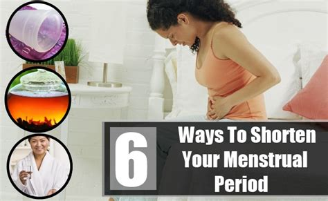 how to shorten menstrual bleeding natural picture 4
