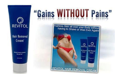 revitol hair removal cream reviews picture 3