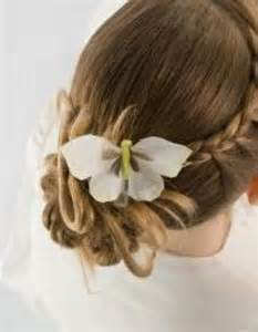 hairstyles for communion short hair picture 13