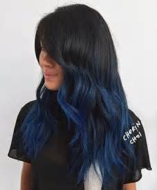 blue dye for gray hair picture 11