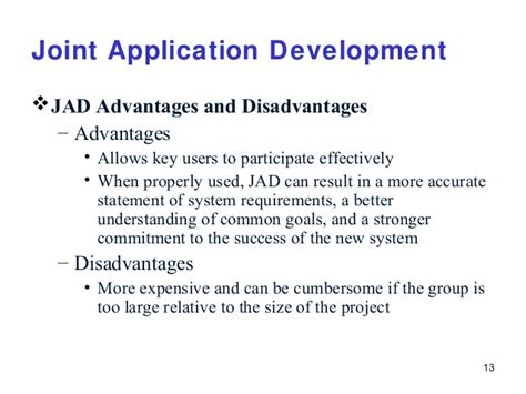 disadvantages of joint application development jad picture 3
