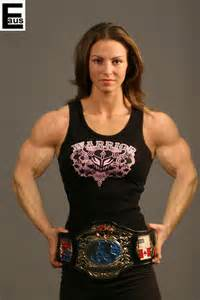 very muscular women wrestling picture 1