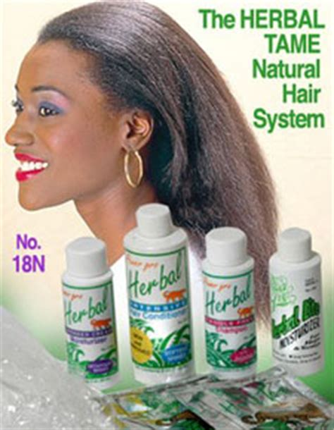 herbal tame hair relaxer gel picture 2