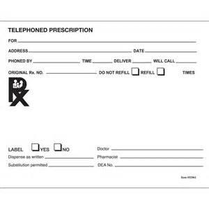 blank prescription pad picture 2
