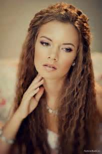 crimped hair styles picture 1