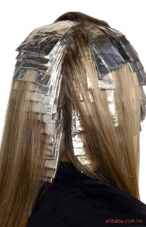 foil hair highlights hair regrowth picture 6