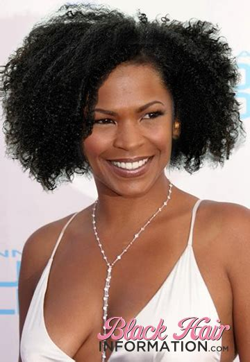 celebs with short natural hair picture 5