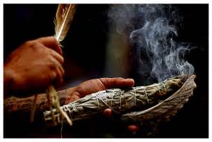 african culture burning herb remedy picture 2
