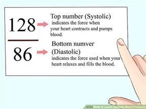 Low diastolic blood pressure picture 2