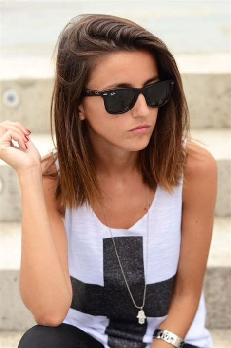 cool hairstyles with straight hair picture 2