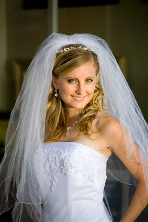 wedding hair styles wh veil picture 7