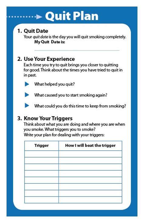 stop smoking plan picture 1