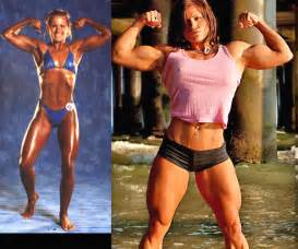 very muscular women wrestling picture 5