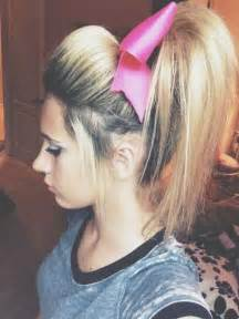 cheer hair picture 6