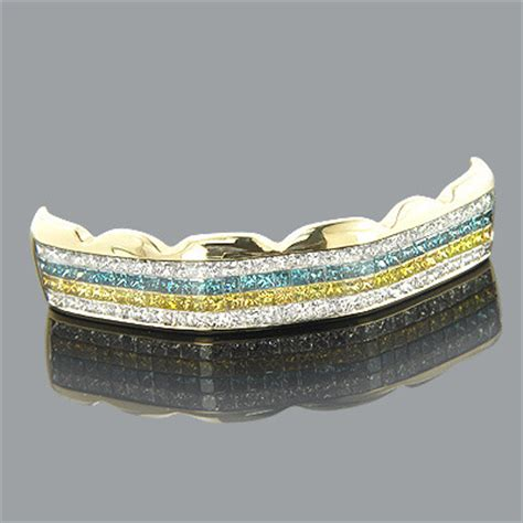 blue gold teeth picture 2