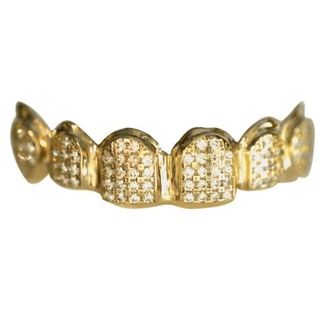 10k iced out gold teeth picture 17