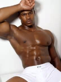 black man muscle abs picture 11