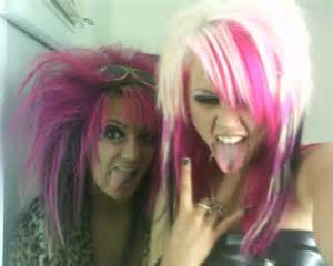 crazy black and blonde hair picture 1