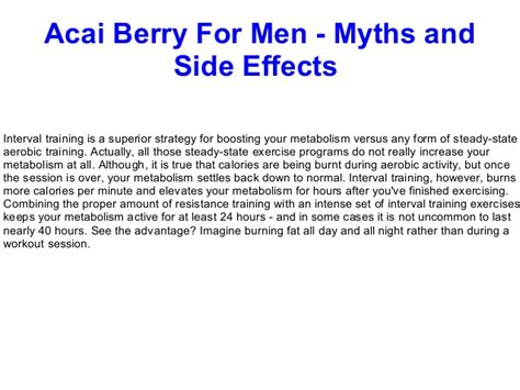 acai berry side effects picture 2