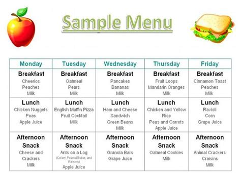 daily diet menu picture 5