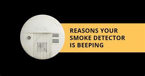 smoke detector intermittant alarm picture 3