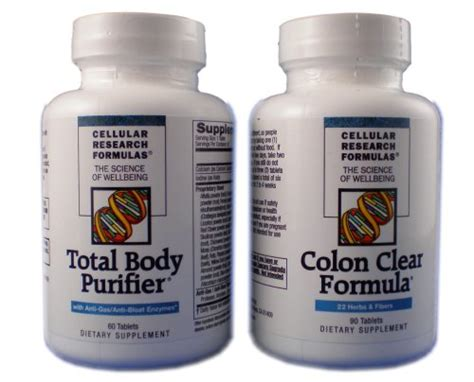 how to cellular research formulas total body purifier picture 3
