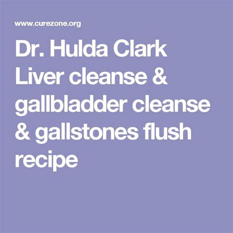 hulda clark method of liver cleansing picture 6