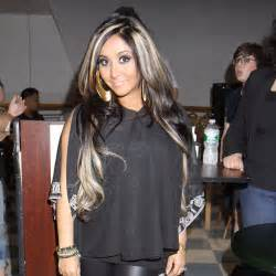 blonde highlights in black hair picture 2
